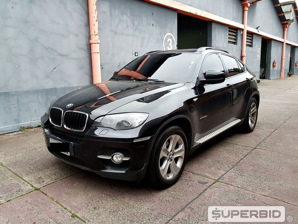 BMW X6 XDRIVE 3.5I (BLINDADO), 2010/2011