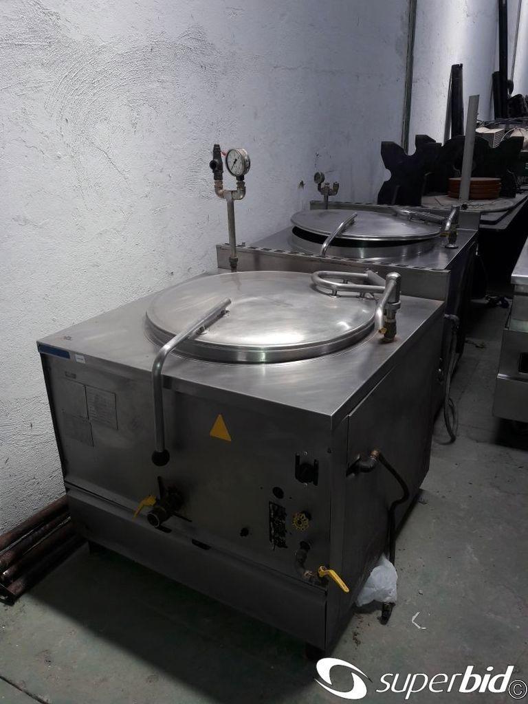 Leil O De Panela Industrial Cozimento Vapor Brasinox 2 P